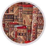 Turkish Carpets Round Beach Towel