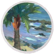 Turquoise Water Round Beach Towel