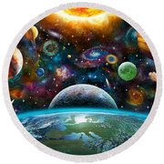 Universal Light Round Beach Towel