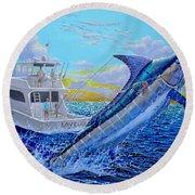 Viking Marlin Round Beach Towel