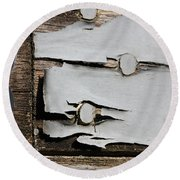 Weathered Round Beach Towel