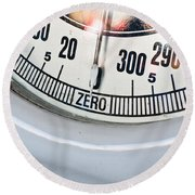 Weighing Scales Round Beach Towel