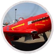 Yak 9u Airplane . 7d15795 Round Beach Towel
