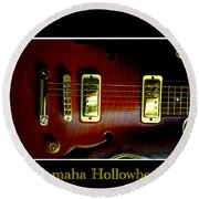 Yamaha Hollowbody 4 Round Beach Towel
