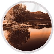 Zen Moment Round Beach Towel