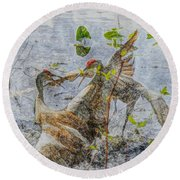 Zhandou Round Beach Towel