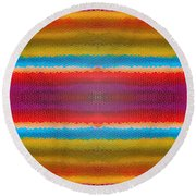 Zoolastic Round Beach Towel by Bruce Stanfield