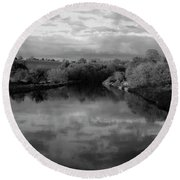 Boyne River Round Beach Towel
