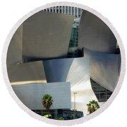 @ Disney Hall, Los Angeles Round Beach Towel