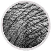 Elephant Skin Round Beach Towel by Michelle Meenawong