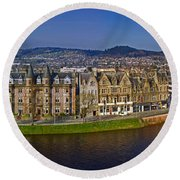 Inverness Round Beach Towel