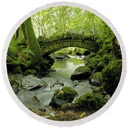 Kilfane Glen  Round Beach Towel