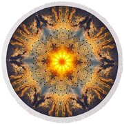 006 Round Beach Towel