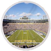0991 Lambeau Field Round Beach Towel