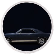 67 Gto Round Beach Towel