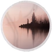 Round Beach Towel featuring the photograph Absolute Beauty - 2 by Okan YILMAZ