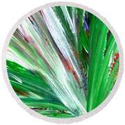 Abstract Explosion Series 92215 Round Beach Towel