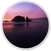 Allure Round Beach Towel by Dustin LeFevre