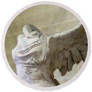 Angel Wing - #1 Round Beach Towel