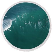 Ant's Nest Round Beach Towel