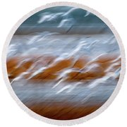 Ascension Round Beach Towel