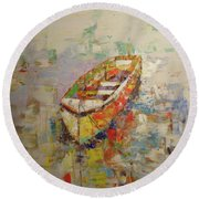 Barque Round Beach Towel