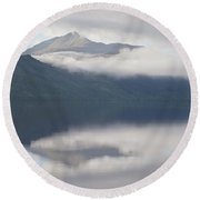 Ben Lomond Round Beach Towel by Stephen Taylor