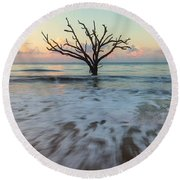 Botany Bay Morning Round Beach Towel