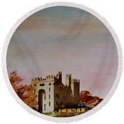 Bunratty Castle, Clare Round Beach Towel