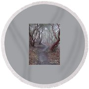 Cathedral Hills Serenity Round Beach Towel