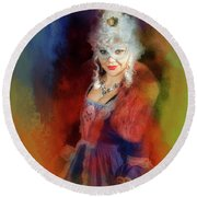 Che Bellezza Round Beach Towel by Jack Torcello