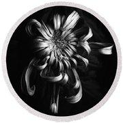 Chrysanthemum 'jefferson Park' Round Beach Towel