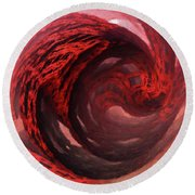 Round Beach Towel featuring the digital art Circular Motion by Melissa Messick