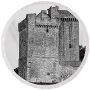 Clackmannan Tower Round Beach Towel