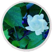 Cotton Blossom Round Beach Towel