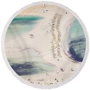 Crete Round Beach Towel