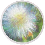 Dandy Day Round Beach Towel by Kathy Bassett