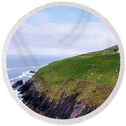 Dingle Peninsula - Ireland Round Beach Towel