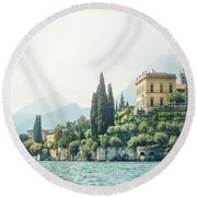 Dream Of The Return Round Beach Towel