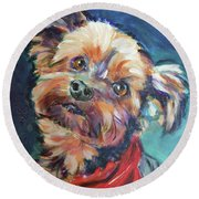 Duke Round Beach Towel