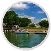 Duxbury  Round Beach Towel
