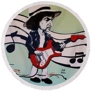 Dylan Round Beach Towel by Rob Hans