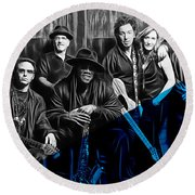 E Street Band Collection Round Beach Towel