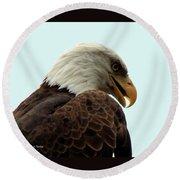 Eagle Round Beach Towel