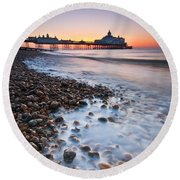 Eastbourne Sunrise Round Beach Towel