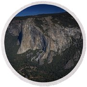 El Capitan  Round Beach Towel by Rick Berk