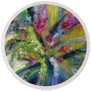 Emerge Round Beach Towel