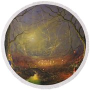 The Fairy Ring Round Beach Towel