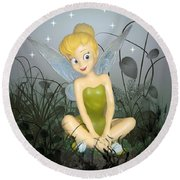Fairyland Round Beach Towel