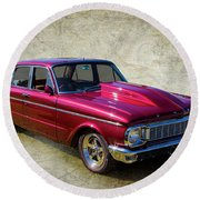 Ford Falcon Round Beach Towel